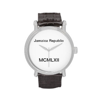 Jamaica Republic Watch by Hip Strip