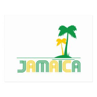 Jamaica Retro Postcard
