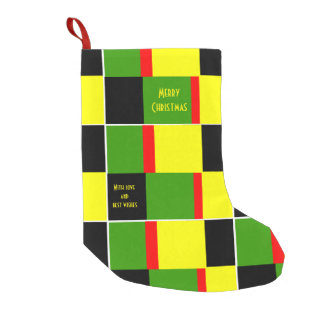 Jamaica roots small christmas stocking