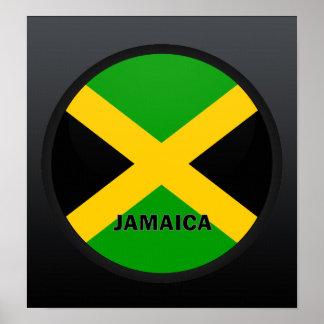 Jamaica Roundel quality Flag Poster