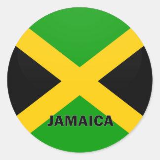 Jamaica Roundel quality Flag Sticker