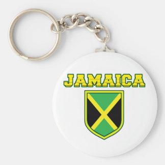 Jamaica Shield Keychain