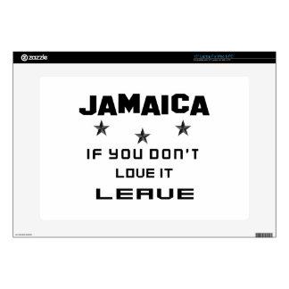 Jamaica si usted no la ama, se va portátil 38,1cm skin