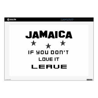 Jamaica si usted no la ama, se va skins para portátil