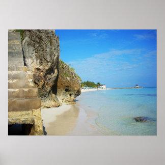 Jamaica - Silver Sands Beach Poster