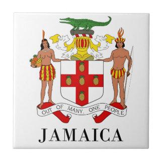 JAMAICA - símbolo/escudo de armas/bandera/colores/ Tejas Cerámicas