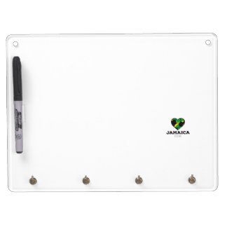 Jamaica Soccer Shirt 2016 Dry Erase Board With Keychain Holder