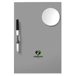Jamaica Soccer Shirt 2016 Dry Erase Board With Mirror