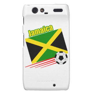 Jamaica Soccer Team Motorola Droid RAZR Covers