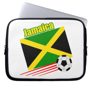 Jamaica Soccer Team Laptop Computer Sleeves