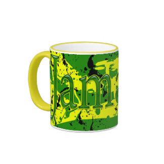 Jamaica Splatter Art Mug