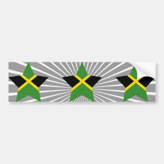 Jamaica Star Bumper Sticker