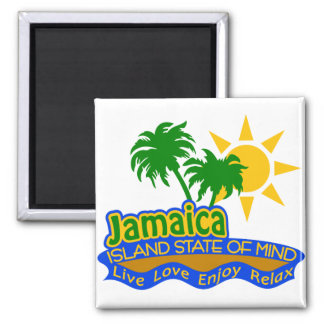 Jamaica State of Mind magnet