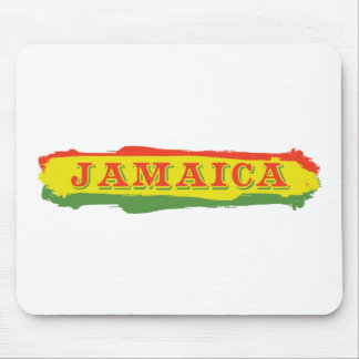 Jamaica Stripes Mouse Pad