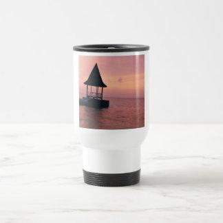 Jamaica Sunset Travel Mug