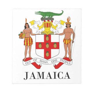 JAMAICA - symbol coat of arms flag colors emblem Note Pad