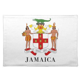 JAMAICA - symbol/coat of arms/flag/colors/emblem Placemat