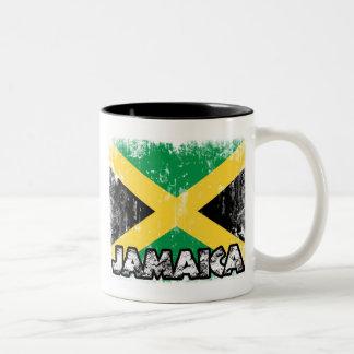 Jamaica - taza apenada de la bandera