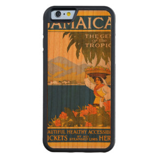 Jamaica, the gem of the tropics carved® cherry iPhone 6 bumper case
