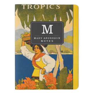Jamaica, the gem of the tropics extra large moleskine notebook cover with notebook