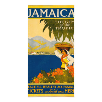 Jamaica, the gem of the tropics photo card