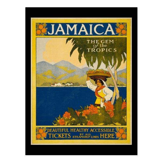 Jamaica the gem of the tropics postcard