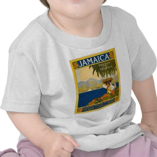 Jamaica the gem of the tropics shirt