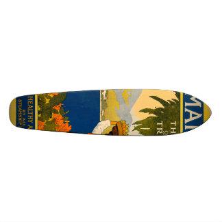Jamaica, the gem of the tropics skateboard