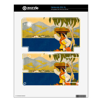 Jamaica, the gem of the tropics skin for the DSi XL