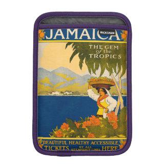 Jamaica, the gem of the tropics sleeve for iPad mini