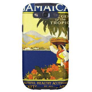 Jamaica the Gem of the Tropics Travel Poster 1910 Samsung Galaxy S3 Case