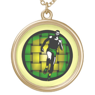 Jamaica Time Gold Plated Necklace