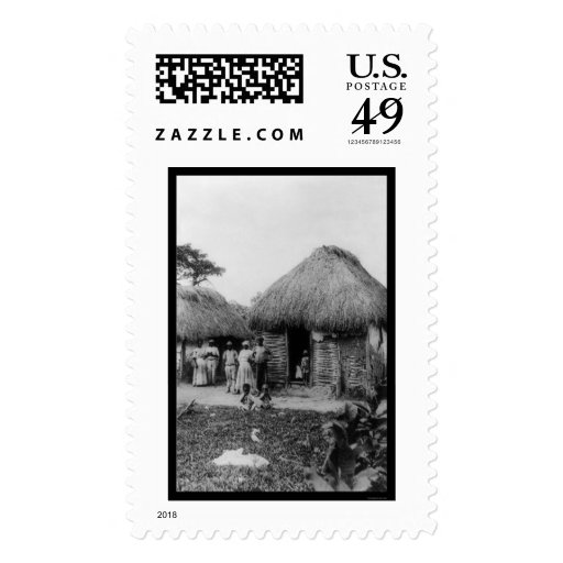 Jamaica Tobacco Plantation 1896 Postage Stamps