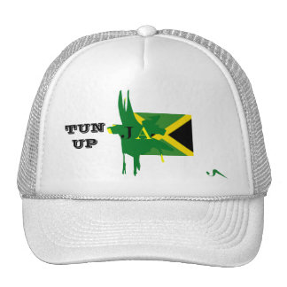 Jamaica TUN UP White Mesh Hat