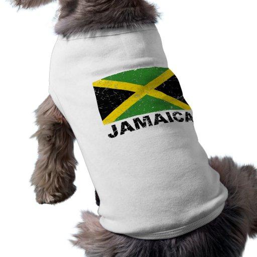 Jamaica Vintage Flag Pet Tee