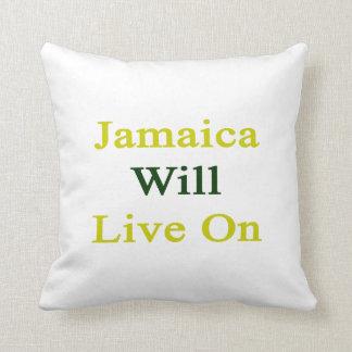 Jamaica vivirá encendido almohada