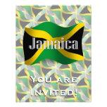 Jamaica Waving Flag Invitations