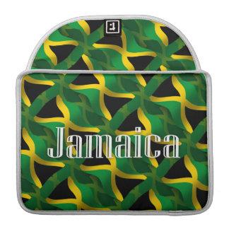 Jamaica Waving Flag MacBook Pro Sleeves