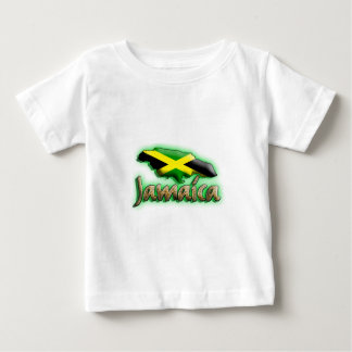 Jamaica with gold title baby T-Shirt