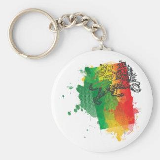 Jamaica Zion Lion Keychain