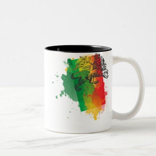 Jamaica Zion Lion Mug