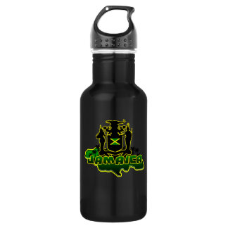 Jamaican 18oz Water Bottle