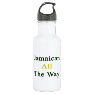 Jamaican All The Way 18oz Water Bottle