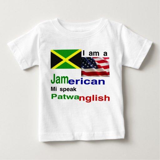 jamaican american baby baby T Shirt