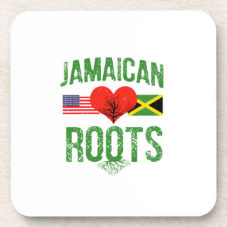 Jamaican American Drink Coaster