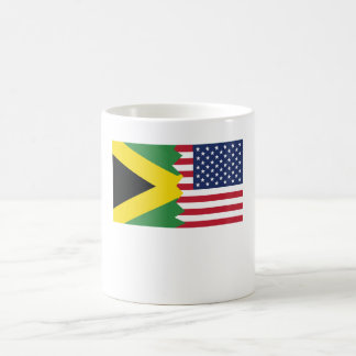 Jamaican American Flag Coffee Mug