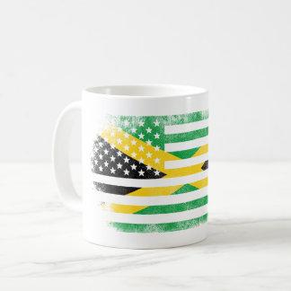 Jamaican American Flag   Jamaica and USA Design Coffee Mug