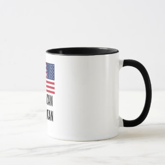 Jamaican American Flag Mug