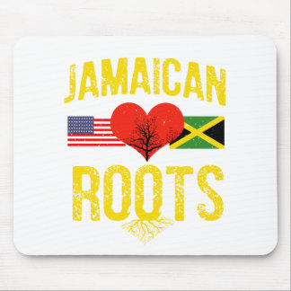 Jamaican American Mouse Pad