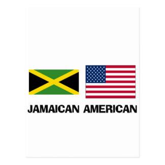 Jamaican American Postcard